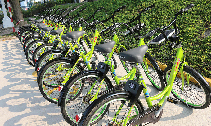 New bike sharing scheme proposed for downtown HCMC