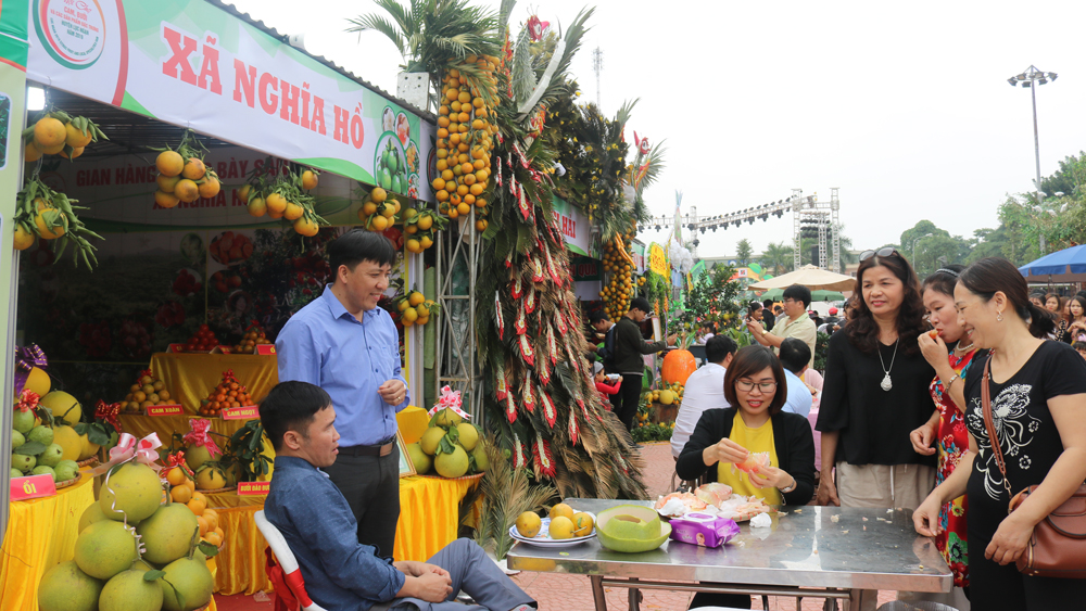 Luc Ngan trade fair of orange, pomelo and signature products is scheduled on late November