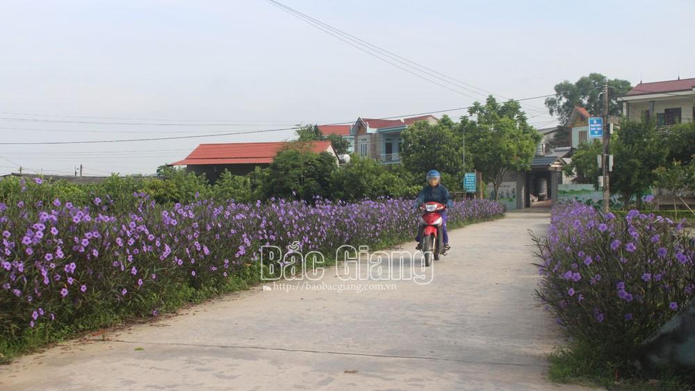 Tân Yên: Xây dựng 22  tuyến đường sáng, xanh, sạch, đẹp, an toàn