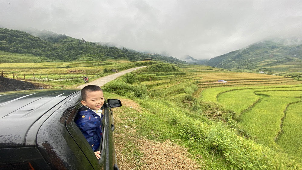 Take the harvest route to Mu Cang Chai