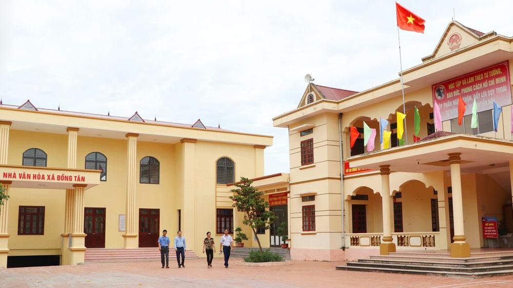 Xã Đồng Tân (Hiệp Hòa) đạt chuẩn nông thôn mới