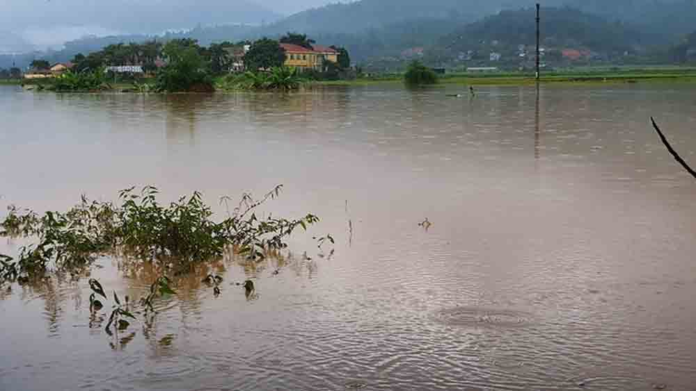 Toddler dies as record rainfall sweeps Vietnam province
