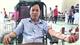 Teacher proves bright model of blood donation