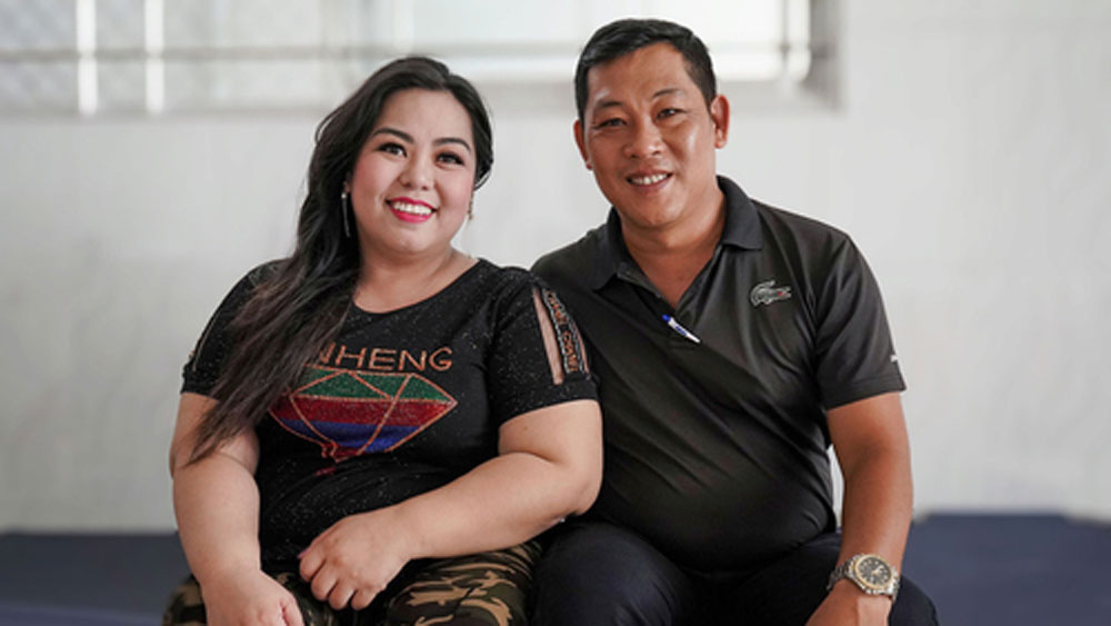 Disabled athlete on finding love, carving out robust career