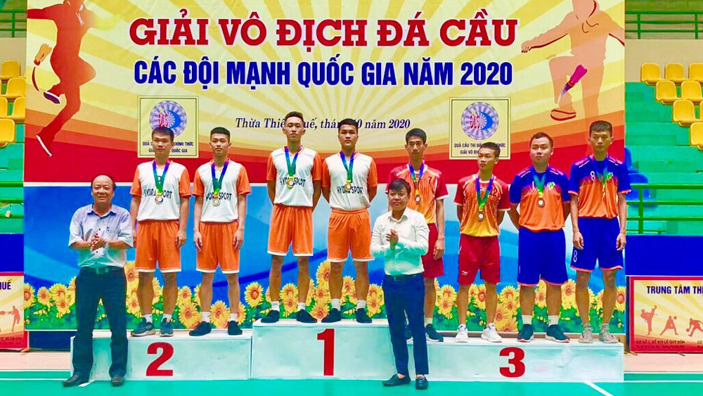 Bac Giang ranks second at National Team Shuttlecock Championships