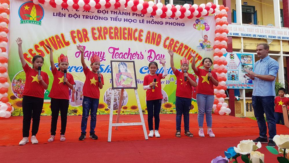 TP Bắc Giang đổi mới, nâng chất lượng dạy và học tiếng Anh