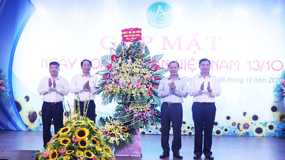TP Bắc Giang gặp mặt nhân Ngày doanh nhân Việt Nam