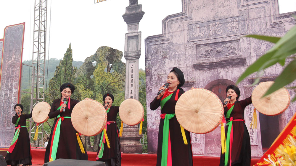 Bac Giang province, Land of heritage, long history and culture,  talented people, sacred land, large mountain ranges,  comprehensive development, new-style rural areas