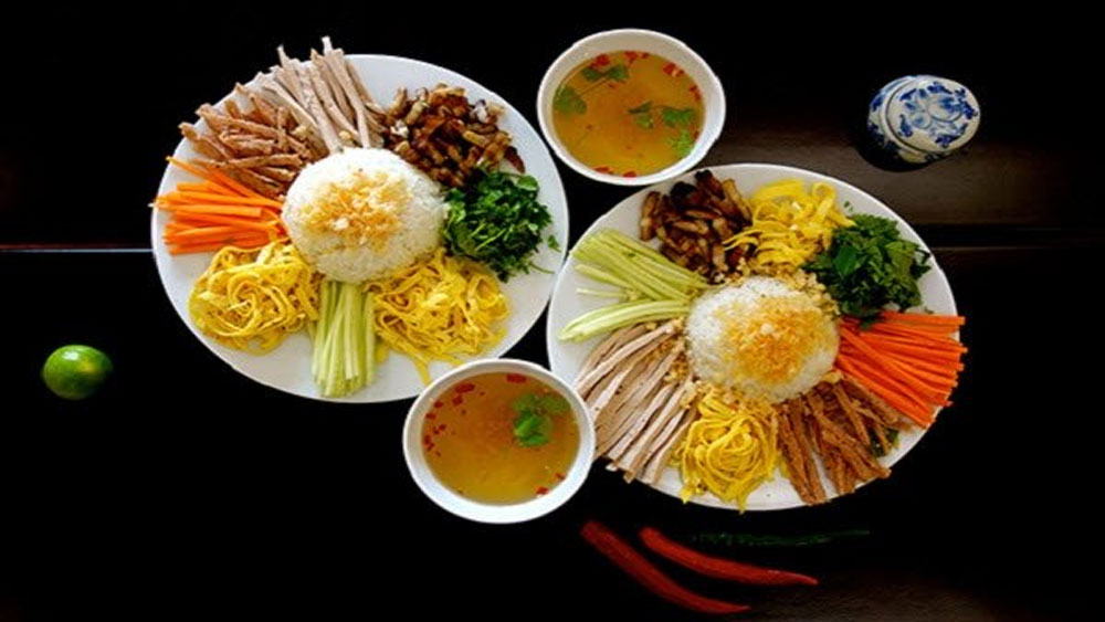 Com am phu, heavenly dish, Hue, exotic delicacies, hell rice, simple dish, tasty dish, delicious and fragrant rice