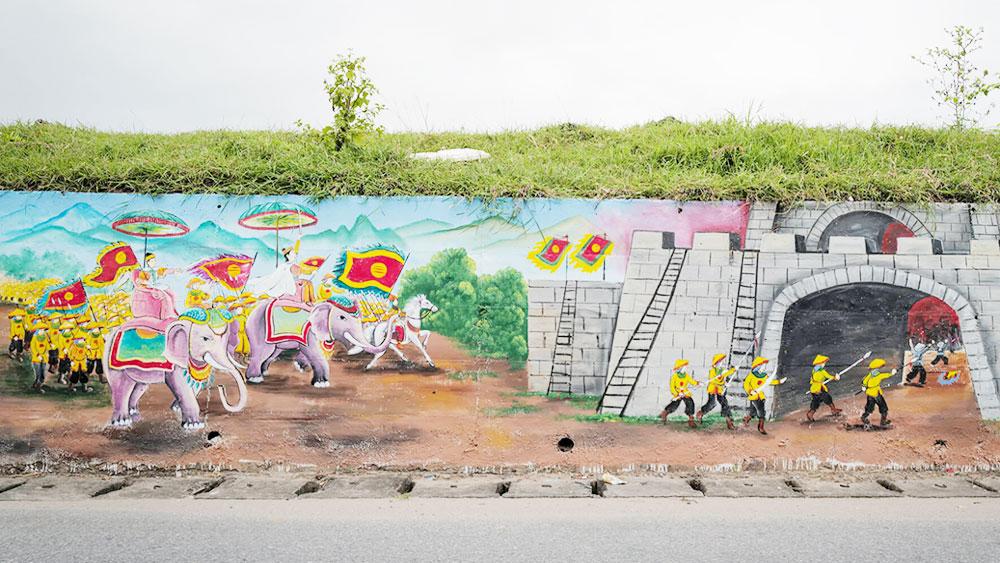 Hanoi's longest mural street takes shape