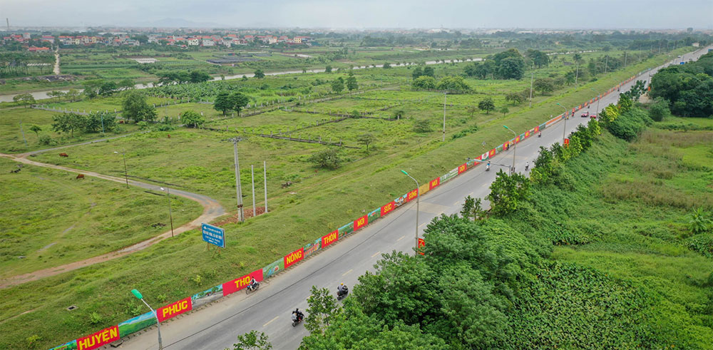 Hanoi, longest mural street, takes shape, culture and history,  city embankment, Red River, Trung sisters, entire project