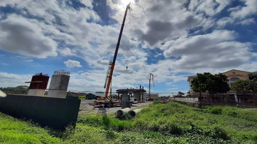 Hơn 314 tỷ đồng xây dựng đường trục thị trấn Vôi