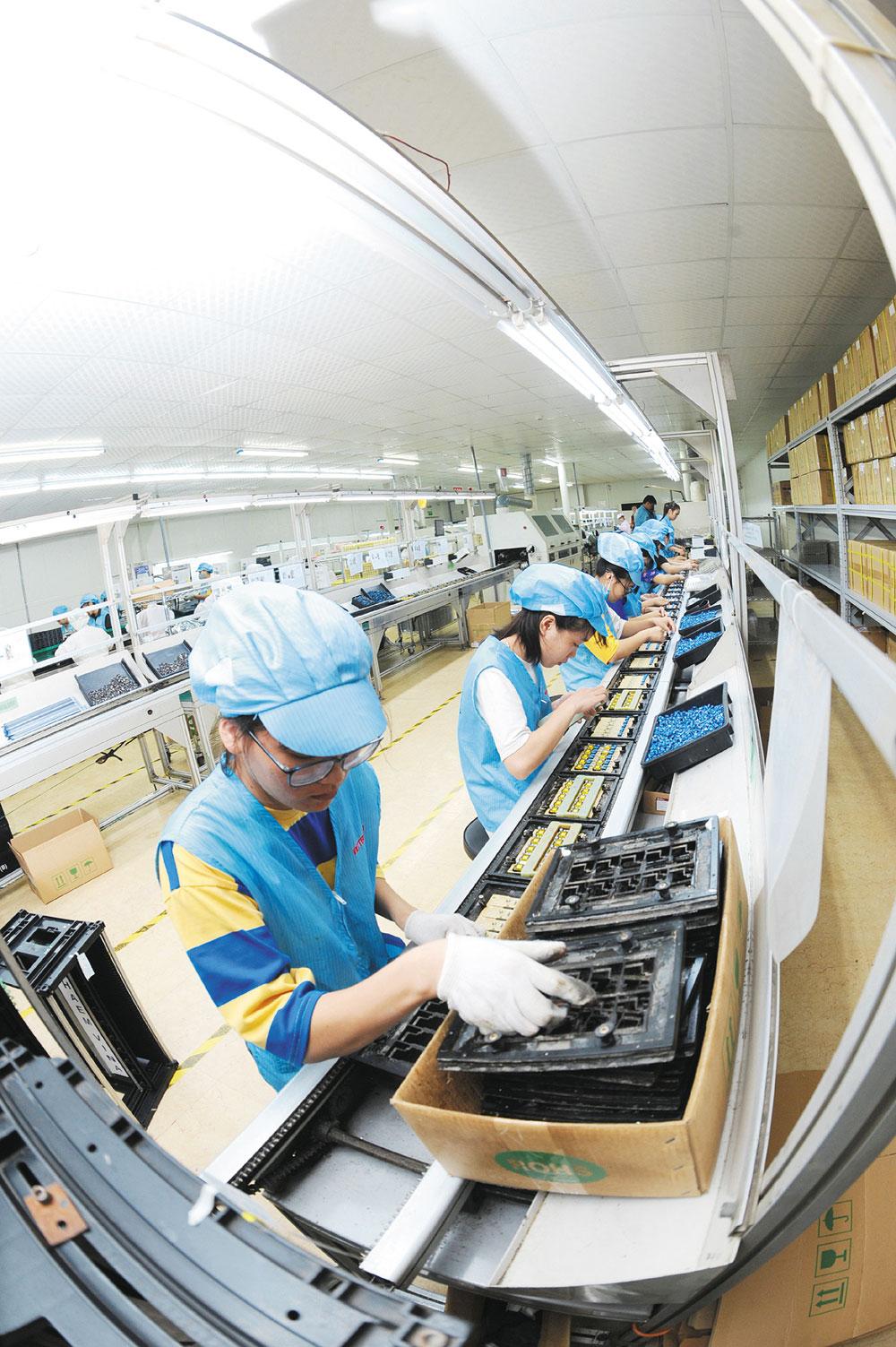 Bước tiến, cải thiện, môi trường đầu tư, kinh doanh,, Bắc Giang