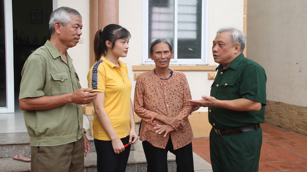 Cựu chiến binh Trương Đức Lâm: Gương mẫu, trách nhiệm với việc chung