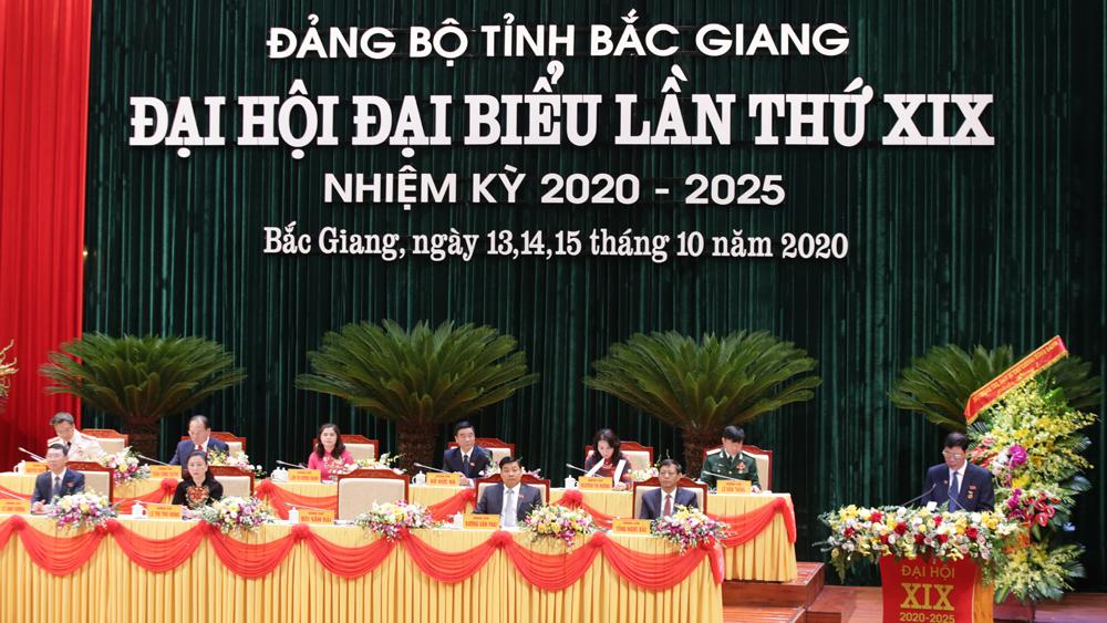 Đảng bộ tỉnh Bắc Giang long trọng khai mạc Đại hội lần thứ XIX, nhiệm kỳ 2020-2025