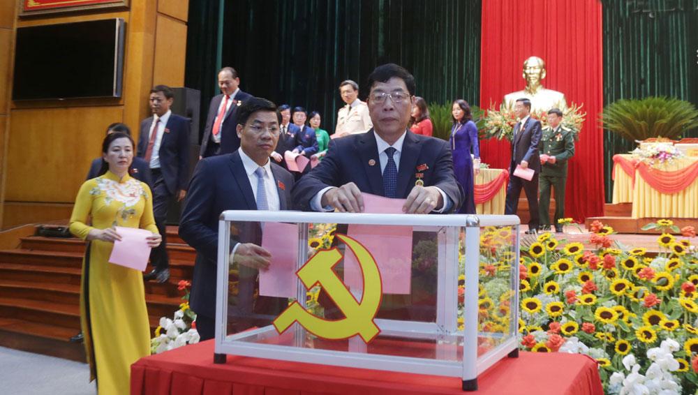 51 đồng chí trúng cử Ban Chấp hành Đảng bộ tỉnh Bắc Giang khóa XIX