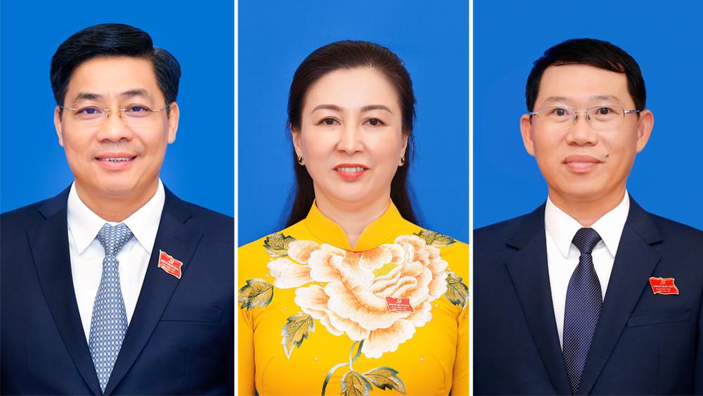 Chân dung Bí thư và Phó Bí thư Tỉnh ủy Bắc Giang nhiệm kỳ 2020 - 2025