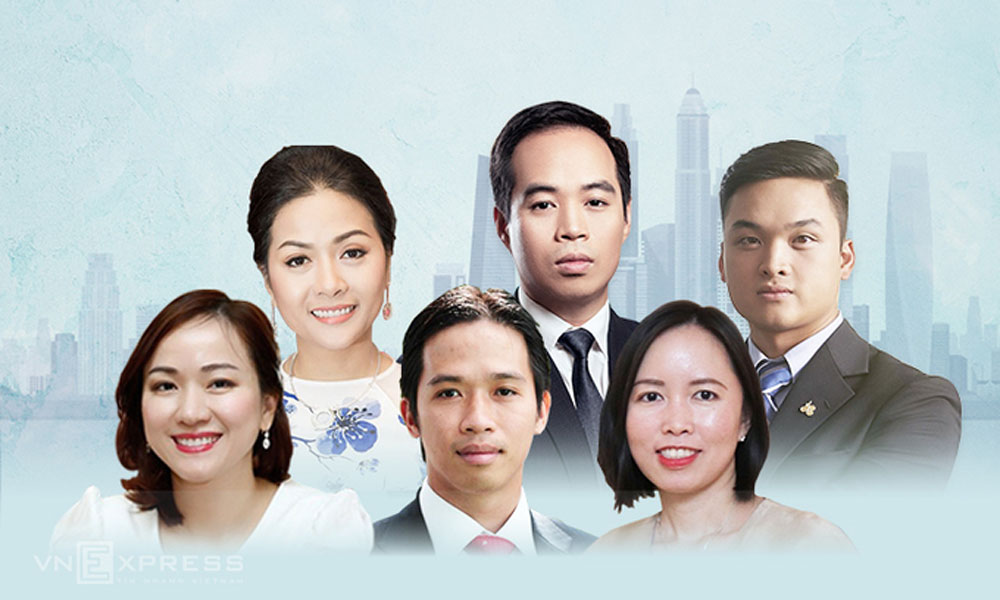 Young leaders, business empires, Vietnamese entrepreneurs,  key responsibilities, youngest chairman,  digital transformation, high-profile entrepreneurs
