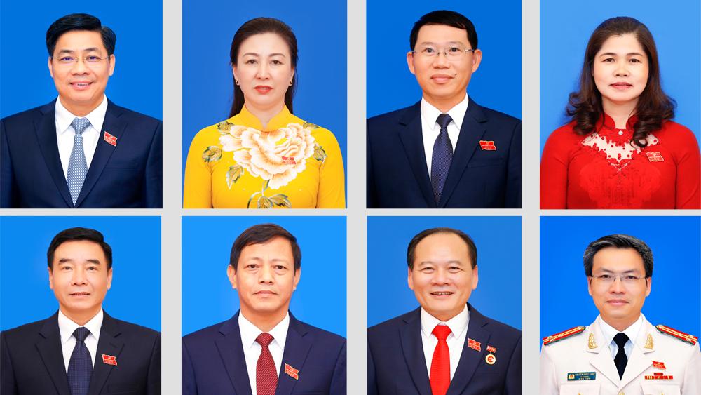 Danh sách 15 đồng chí Ban Thường vụ Tỉnh ủy Bắc Giang khóa XIX