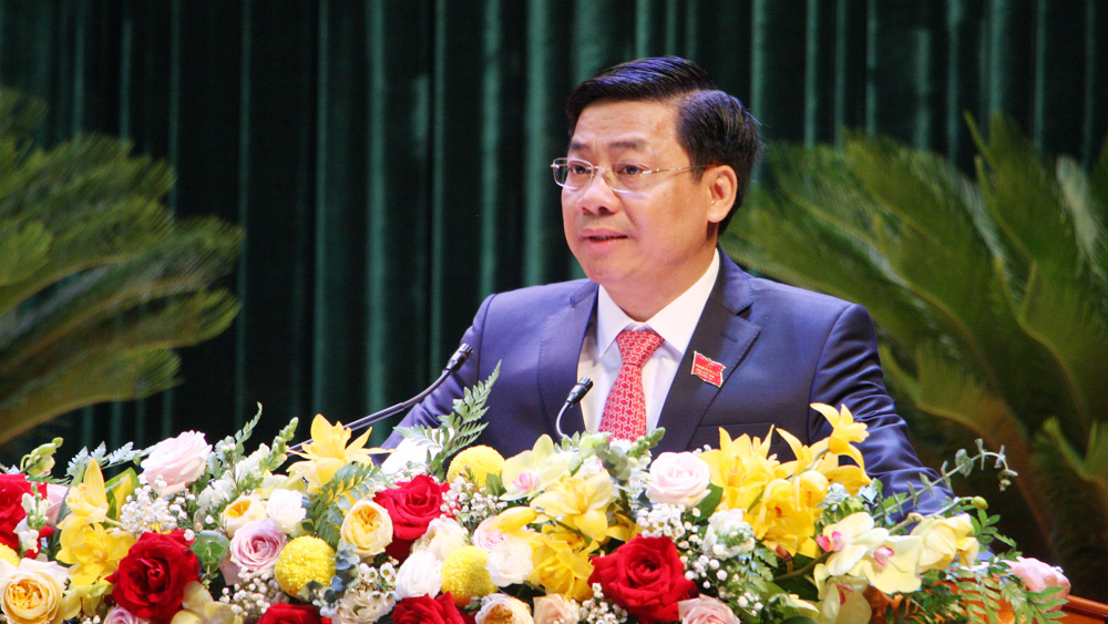 Duong Van Thai elected as Secretary of provincial Party Committee for 19th tenure