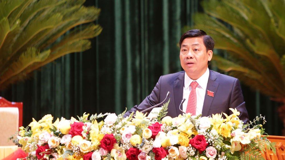 Diễn văn bế mạc Đại hội của đồng chí Dương Văn Thái, Bí thư Tỉnh ủy, Chủ tịch UBND tỉnh Bắc Giang