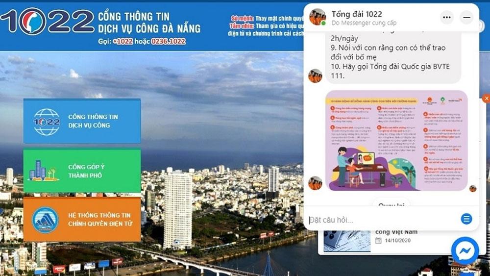 Da Nang city, chatbot app, final list, GO Smart Awards 2020, only product,  administrative procedures,  socio-economic information