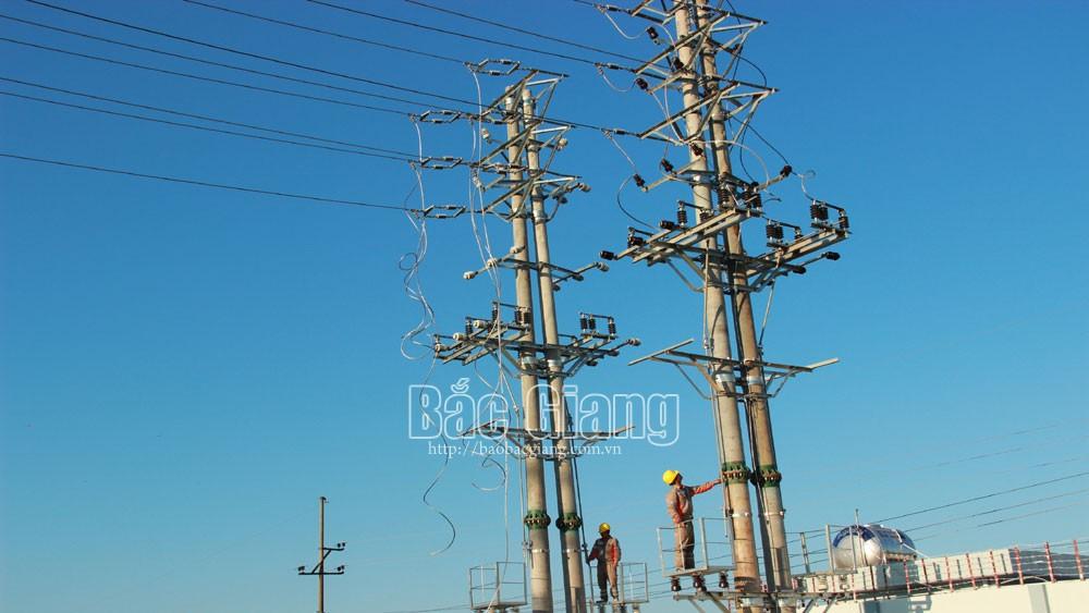 Đẩy nhanh tiến độ các dự án,  bảo đảm cấp điện ổn định