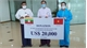 Vietnam presents medical supplies to Myanmar amidst Covid-19