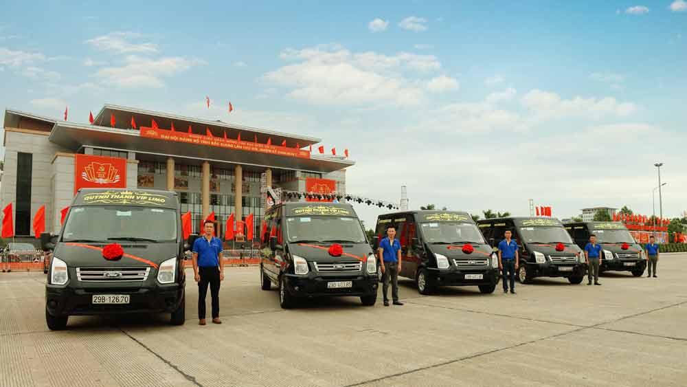 Khai trương tuyến xe khách hợp đồng đón, trả khách tận nhà TP Bắc Giang - Hà Nội