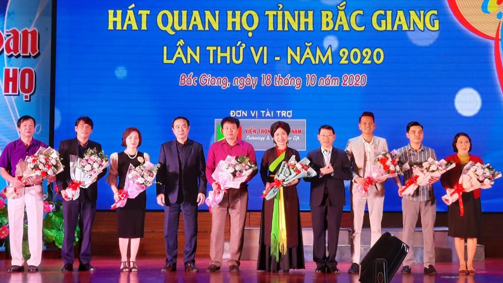 Bắc Giang: Hơn 300 diễn viên, nghệ nhân, nhạc công tham dự Liên hoan hát quan họ tỉnh