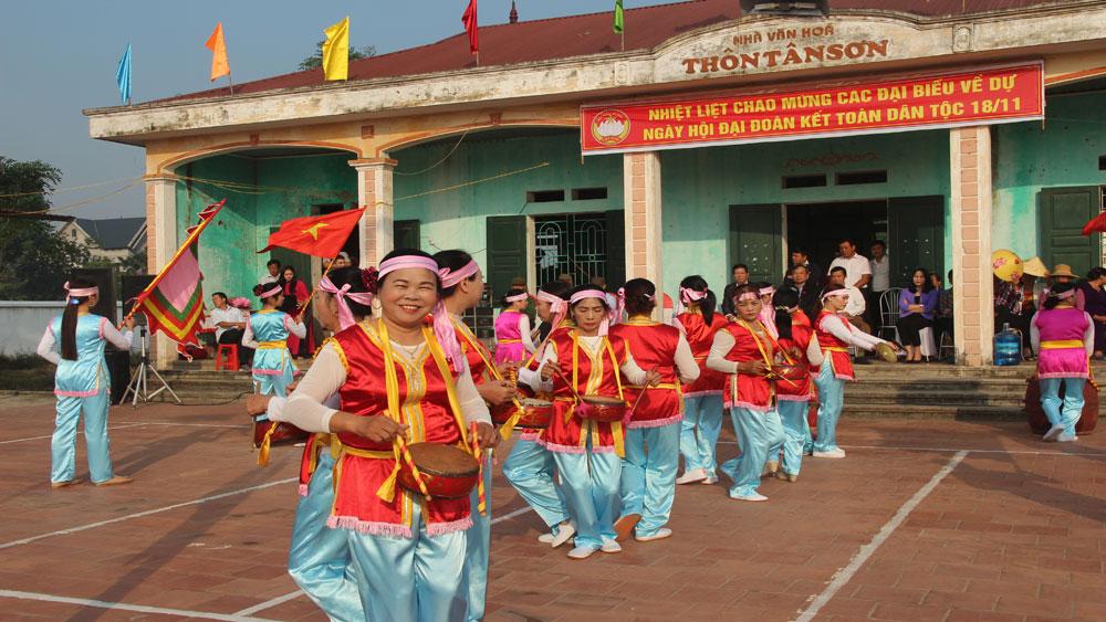 MTTQ các cấp huyện Hiệp Hòa góp sức vì thôn xóm đoàn kết