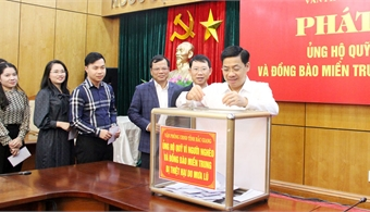 Bac Giang launches Action month for the poor: Organization and agencies register to donate over 64 billion VND