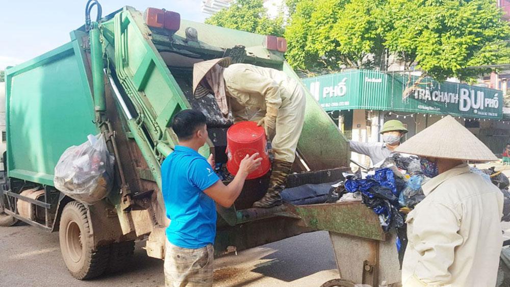 Chuyển biến trong thu gom, xử lý rác thải