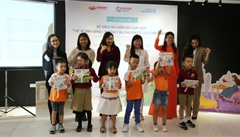 First fairy tale books on gender equality launched for Vietnamese children