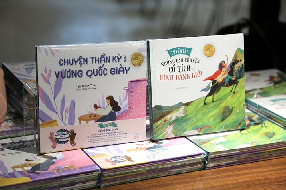 First fairy tale books, gender equality, Vietnamese children, ChildFund Vietnam, comprehensive development,  Generation Equality, modern fairy tales
