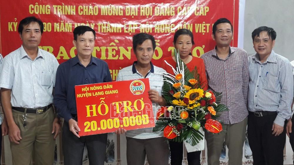Bắc Giang: Hỗ trợ nông dân nghèo xây nhà ở