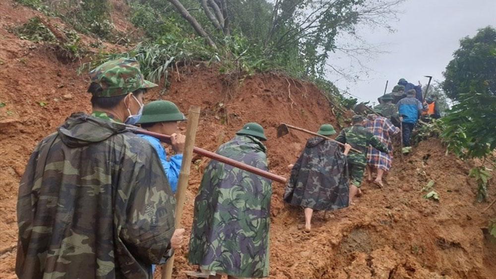 Lũ lụt, sạt lở đất tại miền Trung: 133 người tử nạn và mất tích