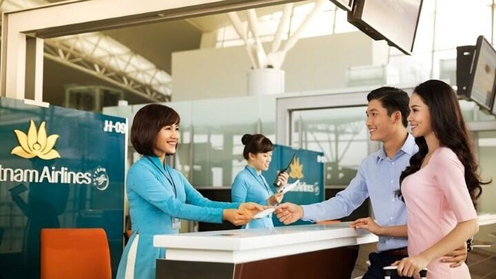 One-time check-in process, Con Dao route, Vietnam Airlines Group, faster service,  transit journey, new policy,  boarding passes
