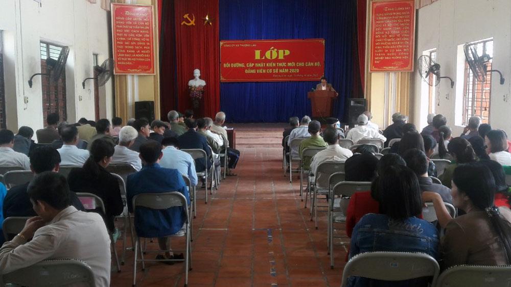 Việt Yên, bồi dưỡng, cập nhật kiến thức, đảng viên cơ sở