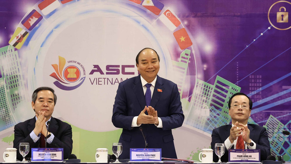 Thủ tướng Nguyễn Xuân Phúc, Diễn đàn đô thị thông minh ASEAN 2020