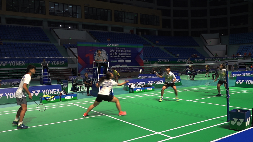 Over 100 athletes participate in National Badminton Championships