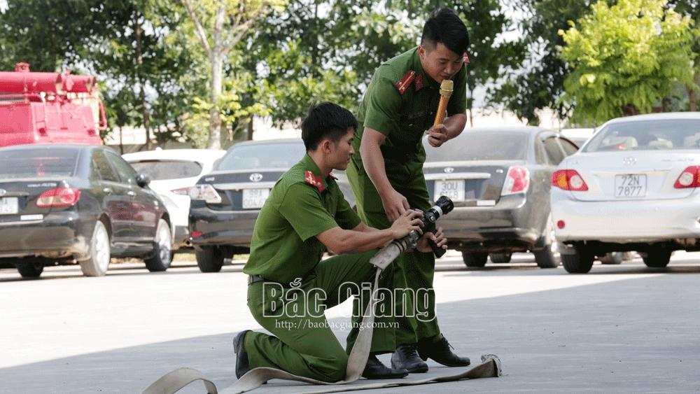 phóng cháy, chữa cháy, cứu nạn, cứu hộ, Bắc Giang