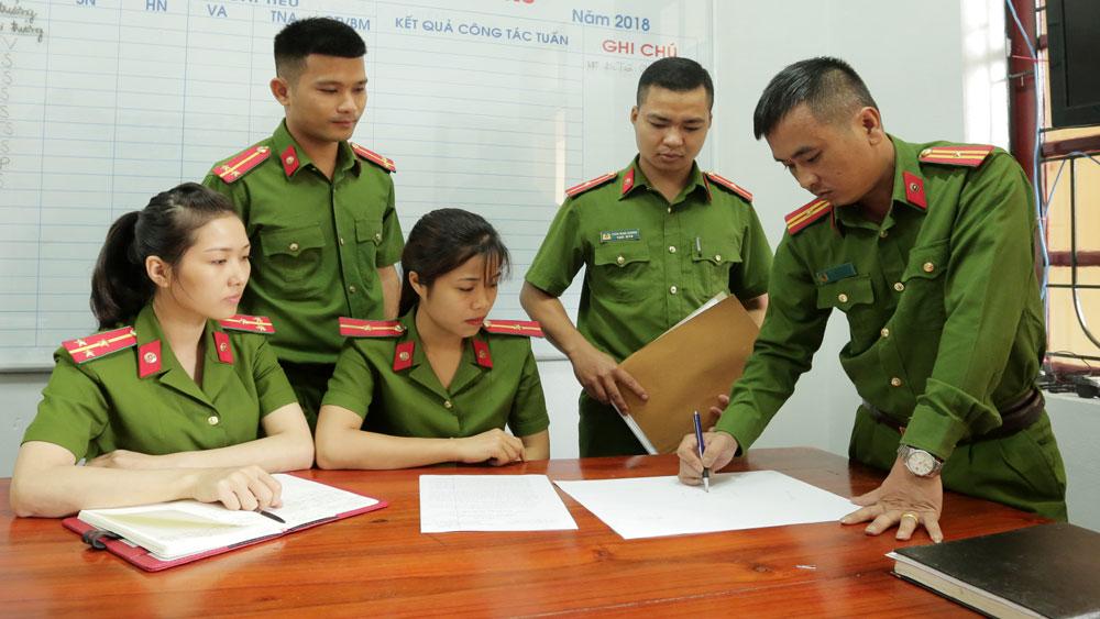 Thiếu tá Phan Thanh Hải, Bắc Giang, công an