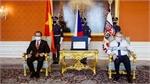 Czech President lauds friendship with Vietnam