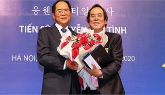 First Vietnamese receives South Korean Sejong award