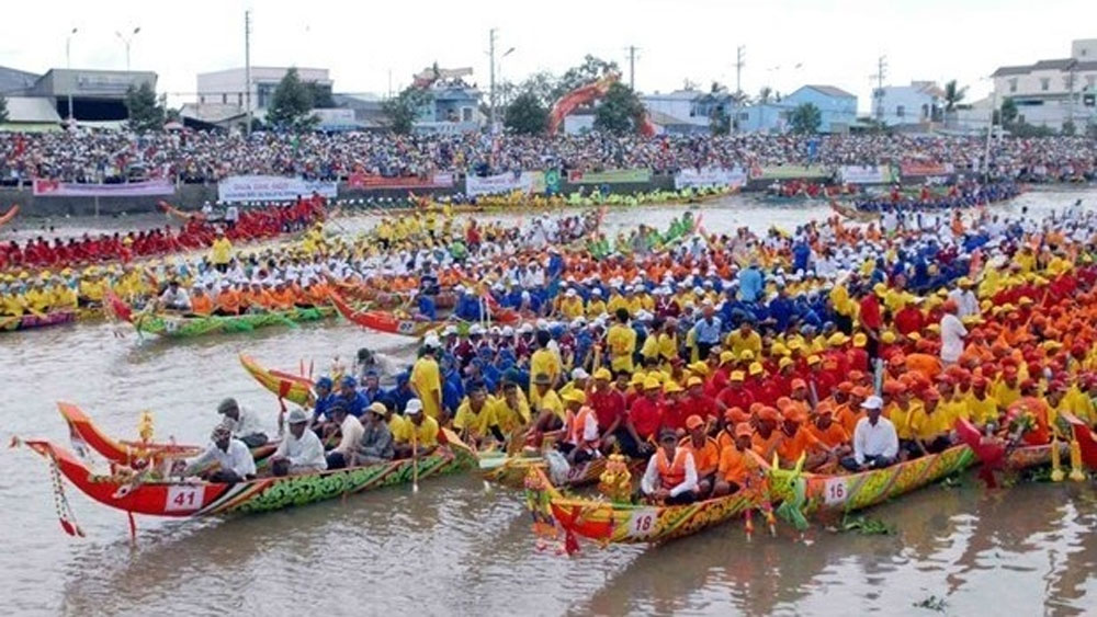 Khmer people, Ok Om Bok festival, opens in Tra Vinh, Khmer ethnic group, national intangible cultural heritage, cultural and tourism week
