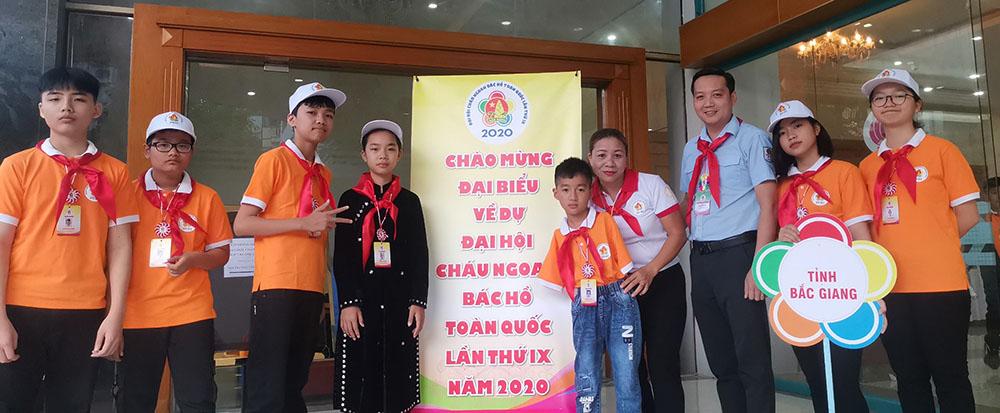 Bắc Giang, Nguyễn Ngọc Trà My, cháu ngoan Bác Hồ toàn quốc