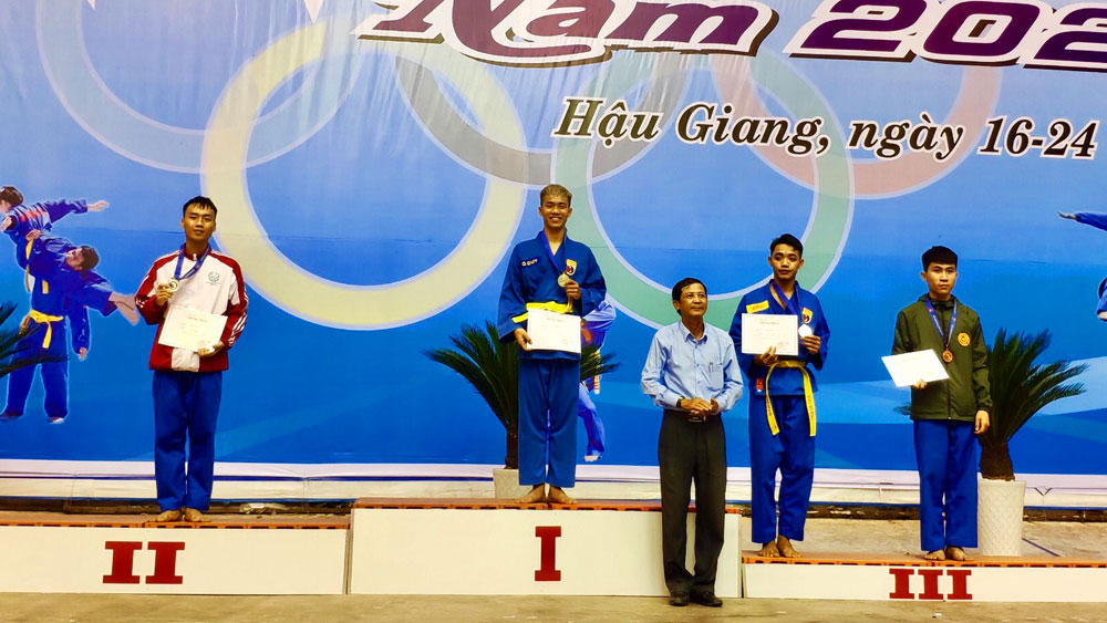 Bac Giang wins 4 medals at National Youth Vovinam Championships