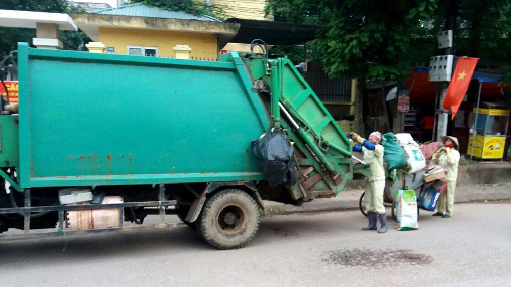 Yên Thế ưu tiên nguồn lực xử lý rác thải sinh hoạt