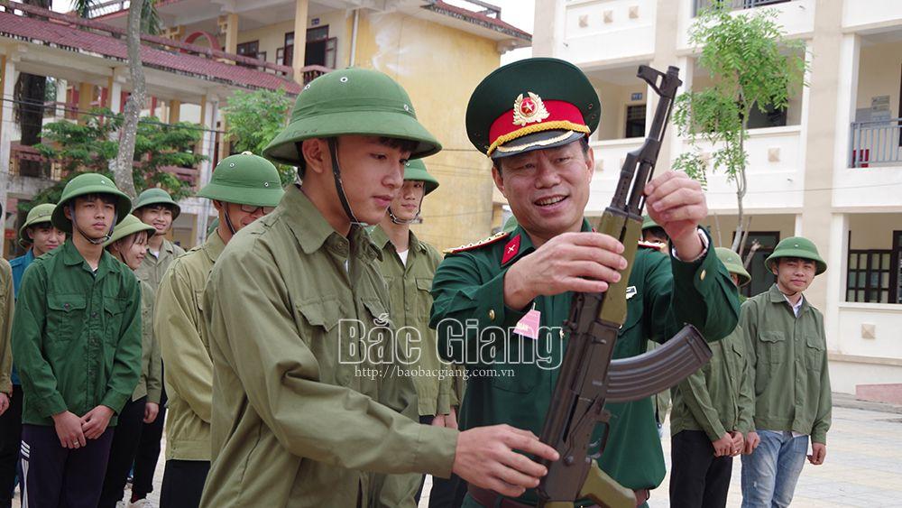 Bắc Giang: Kiểm tra công tác giáo dục QPAN ở Sở Tài chính và các huyện Hiệp Hòa, Yên Dũng